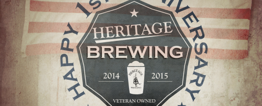 Heritage Brewing Celebrates Their First Year!